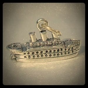 Jewelry - Vintage Cruise ship traditional charm/ pendant
